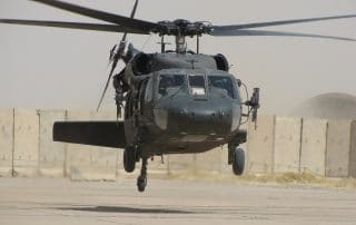 helicopter takeoff landing in Afghanistan